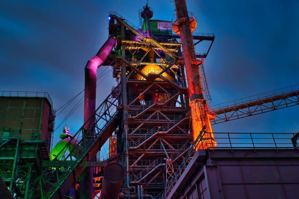 steel, industry, ruhr area